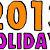Embassies | Consulates in India Holidays List'2013