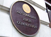 Australia High Commisison in New Delhi, India