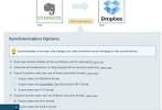 Create Evernote and Dropbox Folders