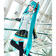 Cosplay Wigs Vocaloid Hatsune Miku Anime Cosplay Wigs 120 CM