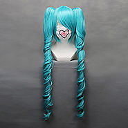 Cosplay Wigs Vocaloid Hatsune Miku Cosplay Wigs 68 CM
