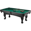 Fat Cat Kansas 7-Feet Billiard Table with Balls and Claw Legs: Sports & Outdoors
