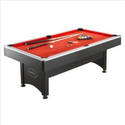 Harvil 7 Foot Pool Table with Table Tennis Top: Sports & Outdoors