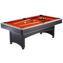 Hathaway Maverick Table Tennis and Pool Table, Black/Red/Blue, 7-Feet: Sports & Outdoors