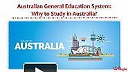 Australian General Education System - Why to Study in Australia?