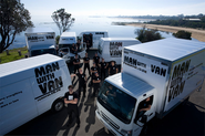 Man and Van Providing Timely and Affordable Service