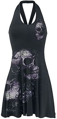 Dead Flowers | Alchemy England Short dress | EMP