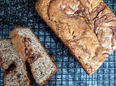 Paleo Banana Bread (Chocolate Swirl, Optional)