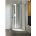 Matki New Radiance Curved Corner Surround with Slimline Shower Tray