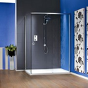 Matki New Radiance Sliding door with Side Panel and Slimline shower tray