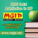 MDU B.Ed Admission Centre in Gwalior, MP