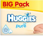 Pack of 10 Huggies Baby Wipes