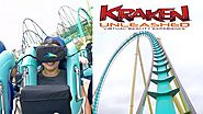Kraken Unleased In Seaworld Orlando