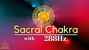 Sacral Chakra Meditation Music 15 mins for happiness & empowerment