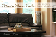 6 Unique Ways to Condition and Clean a Leather Sofa