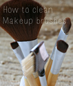 Clean Makeup Brushes in 4 Easy Steps
