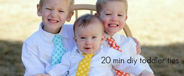 Headline for Best Ties for Toddler Boys Solid Color Polka Dot 2014