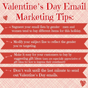 Valentine's Day Email Marketing Infographic