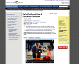 North Island College -Early Childhood Care & Education Certificate