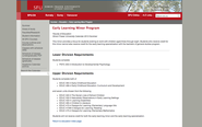 Simon Fraser University - Early Learning Minor Program