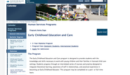 Vancouver Island University - Early Childhood Education and Care