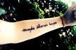 Small meaningful quote tattoos for girls