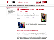 Grand Prairie Regional College - Early Learning & Child Care Program