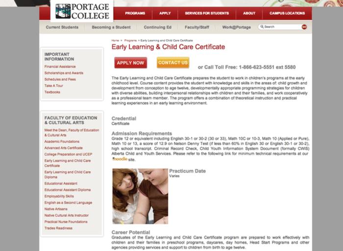 Early Childhood Education Ece Training Programs In Alberta