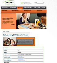 Red Deer - Early Learning & Childcare, Certificate