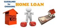 Guidelines on wisely choosing the best Home Loan in India