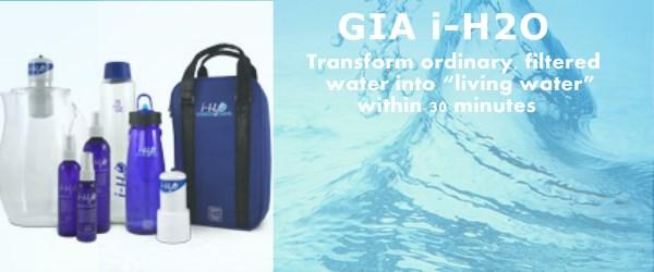 Headline for GIA iH20/iH2O Water Activation System - Reviews & More