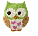 Circo Love n Nature Owl Bath Rug - Owls Bathroom Decor