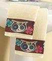 Owl Friend Set of 2 Towels