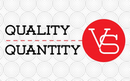 Deliver quality content—even if that means a lower quantity of content.