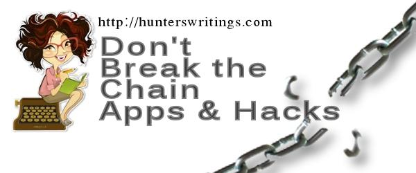 Headline for Productivity Apps & Hacks - Habit or Goal Tracking & Don't Break the Chain