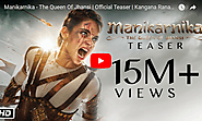 Manikarnika - The Queen Of Jhansi | Official Teaser | Kangana Ranaut | Releasing 25th January - Viral Video Station