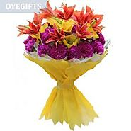 Send Venus Flowers Online Same Day Delivery - OyeGifts.com