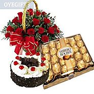 Send Complete Emotions Online Same Day Delivery - OyeGifts.com