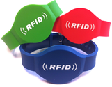 RFID Wristbands, Silicone Wristbands, Disposable PVC wristbands