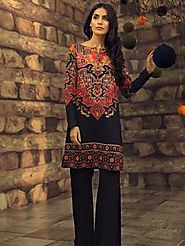Buy Women's Unstitched Suits Online Shopping | Pakistani Unstitched Fabric – Limelightpk