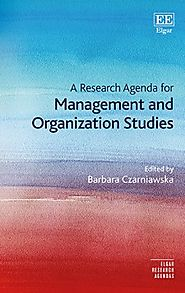 A Research Agenda for Management and Organization Studies