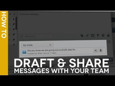 #HootTip - How to Draft and Share a Message Template
