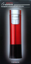 Metrokane Electric Rabbit Rechargeable Corkscrew with Built-in Foil Cutter (Red)