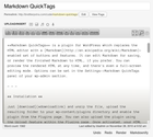 "WordPress › Markdown QuickTags "" WordPress Plugins"