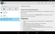 Draft - Android Apps on Google Play