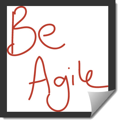 Headline for Agile Marketing - The Learning Channel