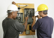 Professional services from a qualified electrician save customer's time and money