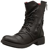 Top 5 Black Fashion Combat Boots - Best Women's Combat Boot Reviews 2016