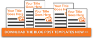 5 Essential Blog Post Templates for Any Marketer