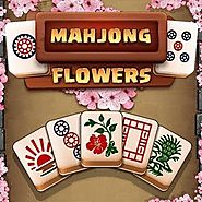 FREE ONLINE GAMES: Mahjong Flowers